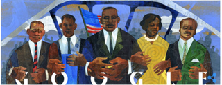 MLK Day Google Doodle for Jan. 19, 2015Google screenshot