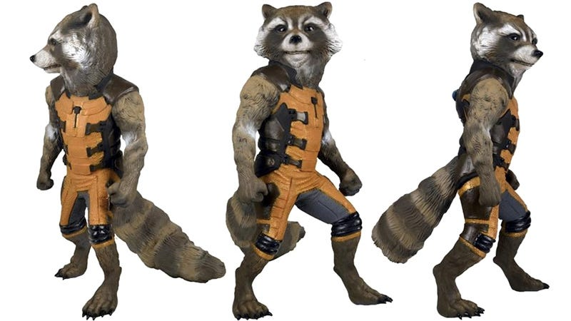 Illustration for article titled A Life-Size Rocket Raccoon That Won't Knock Over Your Trash Cans