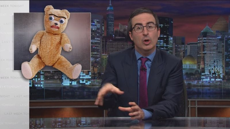 Illustration for article titled John Oliver lays down some ground rules for regifting Christmas presents