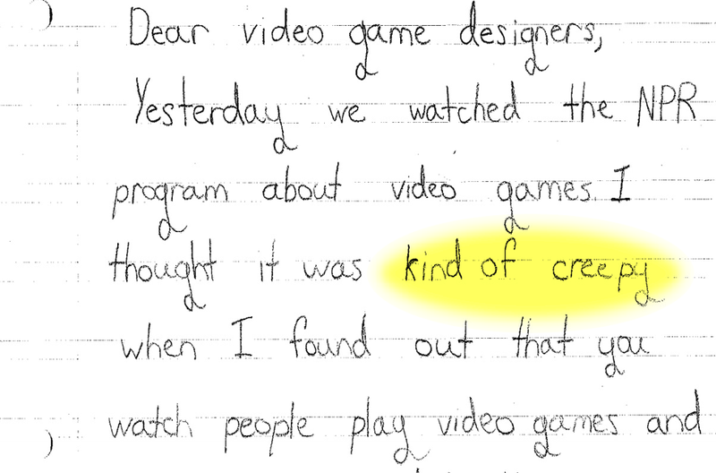 Illustration for article titled Third-Graders Really Don't Like Video Games Tracking What They Do