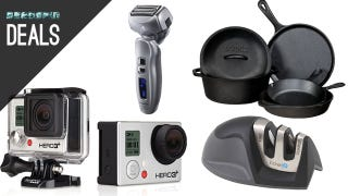 Illustration for article titled 20% Off GoPros, Awesome Electric Shaver, Tons of Great Kitchen Gear