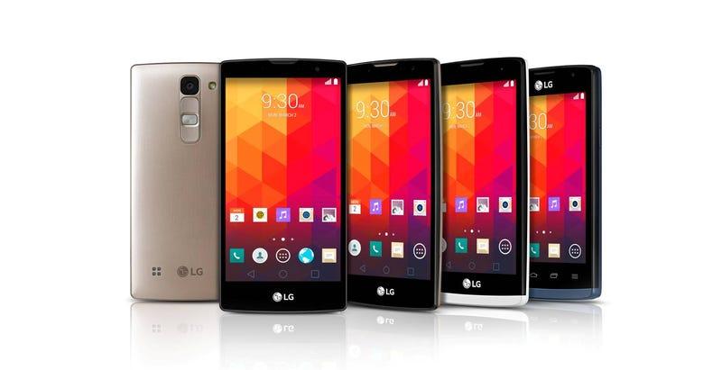 Illustration for article titled LG hace oficial su nuevo abanico de smartphones de gama media