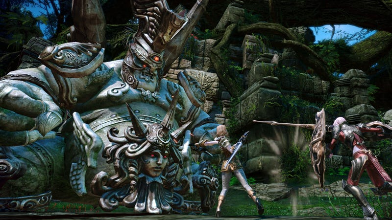 Illustration for article titled TERA Online's Massive Monsters Make a 2012 Play Date