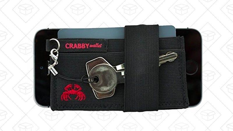 Crabby Wallets Elastic | $10 | Amazon | Clip $5 off couponCrabby Wallets Canvas | $10 | Amazon | Clip the $5 coupon