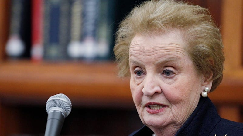 Illustration for article titled Madeleine Albright Can't Fathom Why Any Woman Would Ever Vote for Mitt Romney