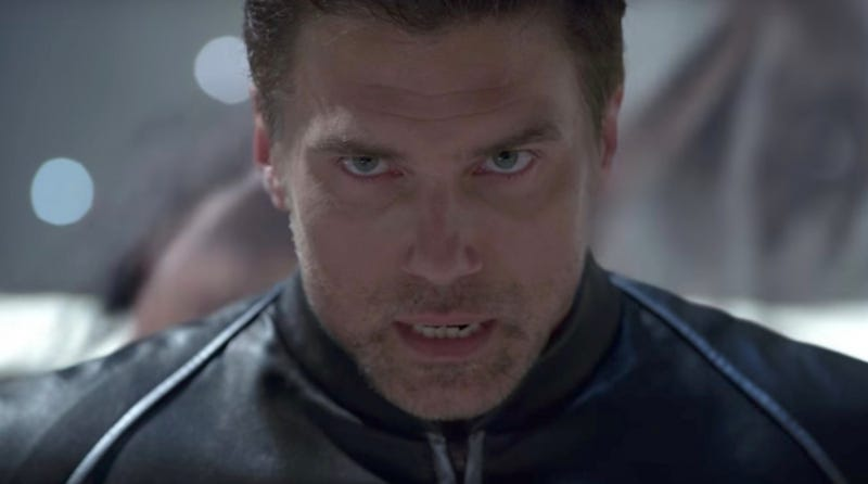 The erstwhile Black Bolt, Anson Mount, is already filming a new show, Star Trek: Discovery.