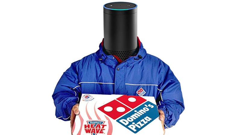 Illustration for article titled Domino's Super Bowl Stunt Lets You Yell at Alexa to Order Pizza