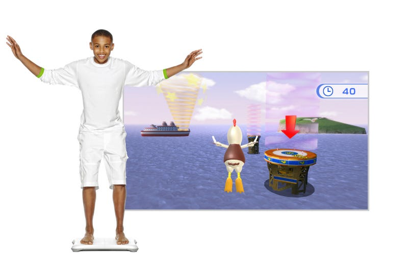 Illustration for article titled Feet-On With Wii Fit Plus' Wacky New Balance Games