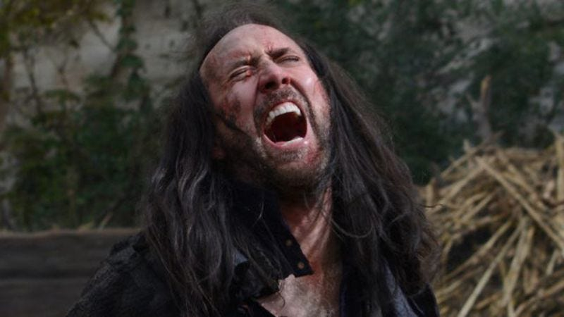 Illustration for article titled Nicolas Cage to star in movie about mass hysteria, naturally