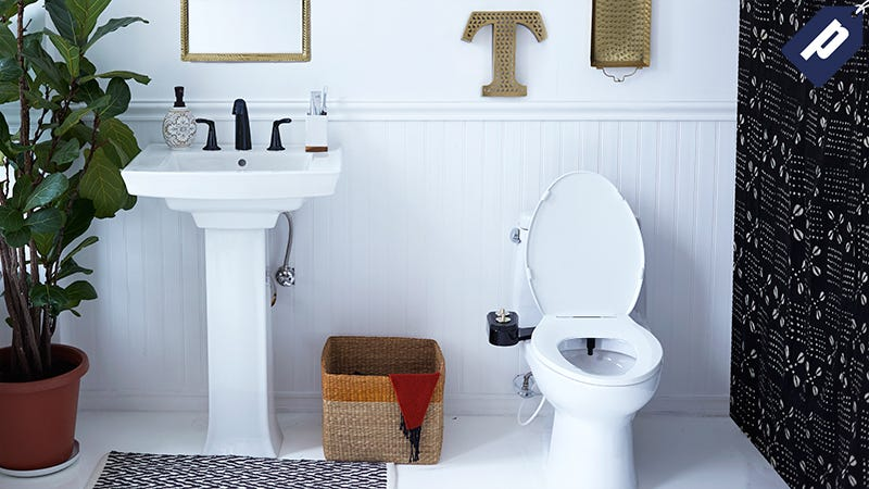 Illustration for article titled Keep It Clean With Tushy: 15% Off The Sleek Bidet For Any Toilet (From $50)