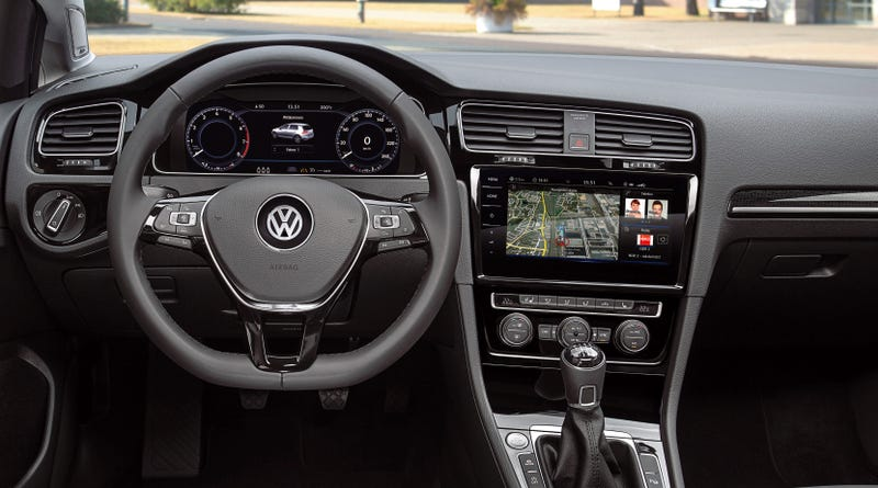 2018 volkswagen wagon. contemporary volkswagen the 2018 volkswagen gti just got an incredibly hightech interior and even  more power throughout volkswagen wagon