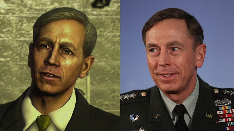 Illustration for article titled This Is Awkward: David Petraeus Is In the Next Call of Duty As America's New Secretary of Defense