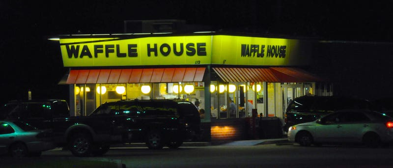 Illustration for article titled Crashing Into A Waffle House Pantsless And Drunk Is The Most Florida Crime Ever