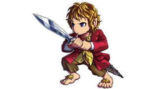 Illustration for article titled Bilbo Baggins is getting a cutesy makeover to star in a JRPG