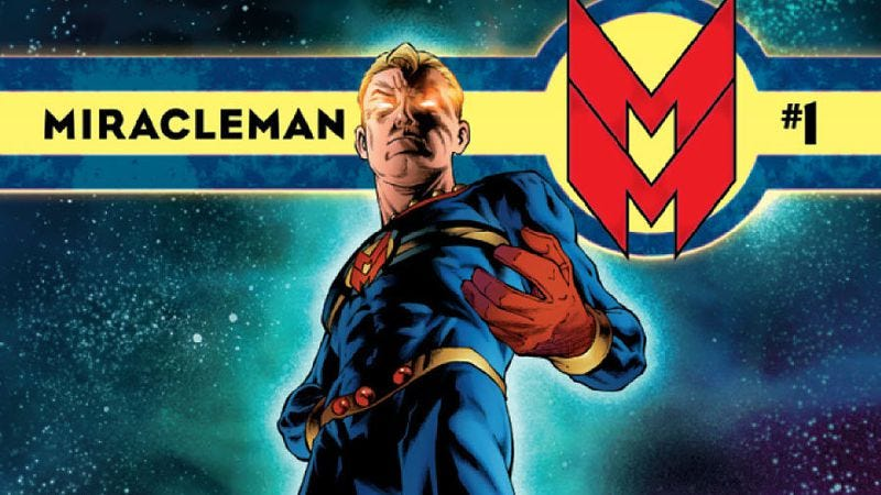 Illustration for article titled New comics releases include Miracleman and a Detective Comics tribute