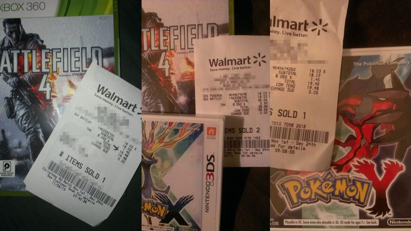 Illustration for article titled Walmart Glitch Gives $18 New Games To Some Lucky Shoppers