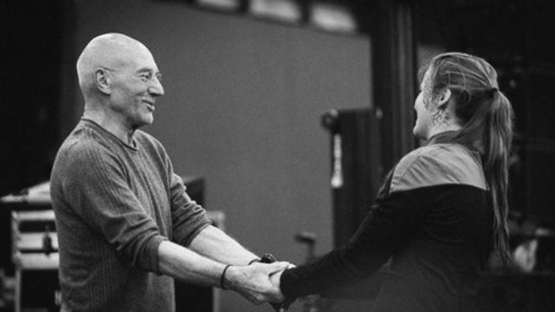 Sir Patrick Stewart speaks out against domestic violence