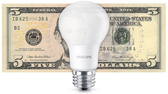 Here's A 4-Pack Of LED Light Bulbs For Under $5