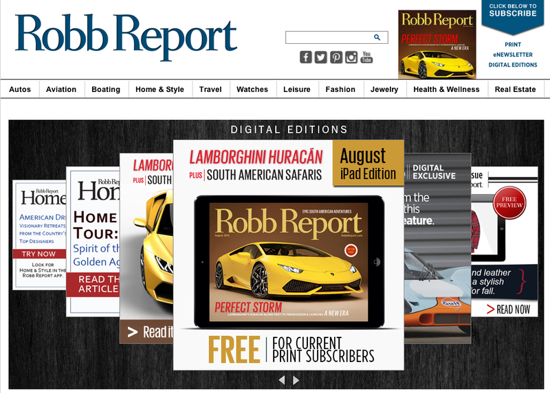 Illustration for article titled Rumor Has It Dan Gilbert Is Trying To Buy Robb Report