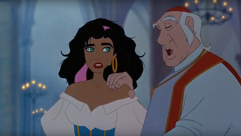Esmeralda from The Hunchback of Notre Dame / Image via Youtube