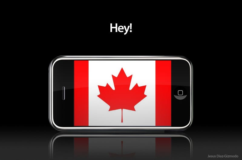 Illustration for article titled iPhone Headed for Canada This Month?