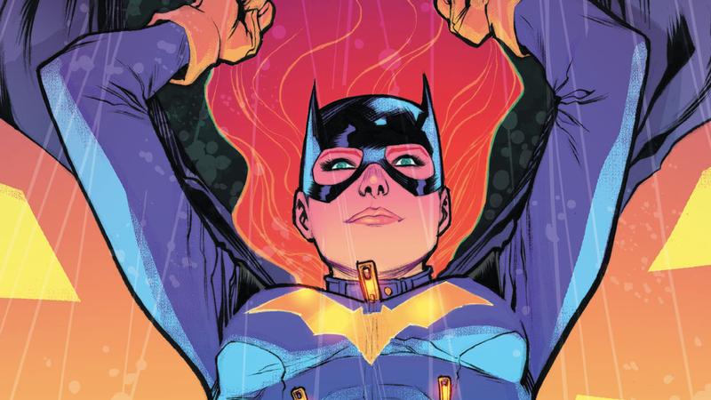Cover of Batgirl Rebirth #4