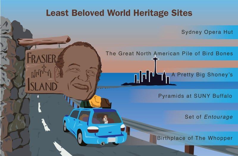 Illustration for article titled Least Beloved World Heritage Sites