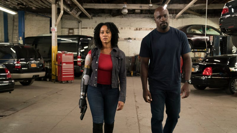 Simone Missick and Mike Colter star in Marvel's Luke Cage