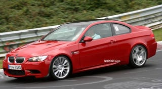 Illustration for article titled BMW M3 CSL on the 'Ring?