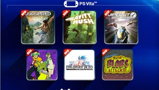 Illustration for article titled PlayStation Plus—and Six Free Games—Come to the Vita Next Week