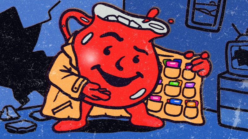 Inside the black (cherry) market of vintage Kool-Aid packet