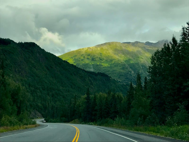Illustration for article titled Alaska's Seward Highway Is The Most Beautiful Road In America