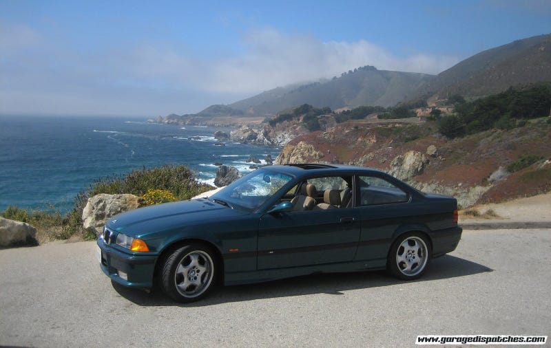 Illustration for article titled Big Sur and a BMW M3