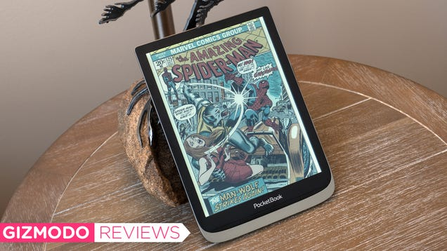 There s Finally a Good Color E Ink Tablet For Comic Books