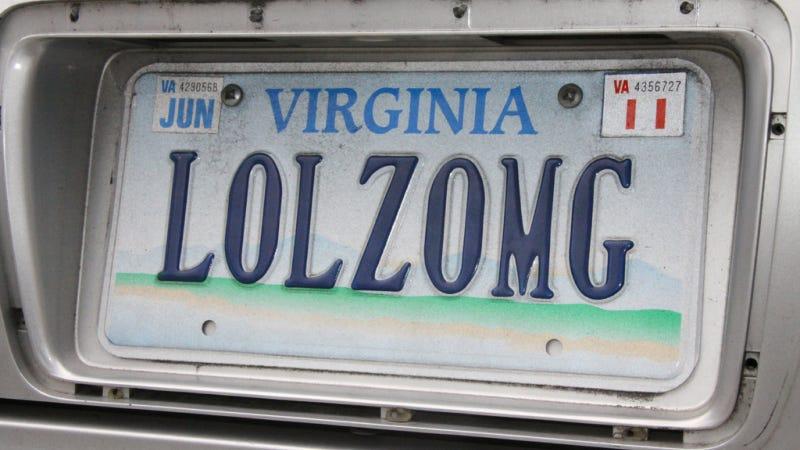 "Illustration for article titled Virginia DMV Denies Iraq War Vet's ""ICUHAJI"" Vanity Plate -- Again"