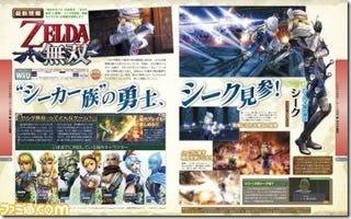 Illustration for article titled Famitsu Reveals Sheik, Princess Ruto and... Darunia!