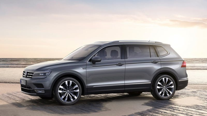 The All New 2018 Volkswagen Tiguan Is Less Ful Than Outgoing Model But Has Grown To Be Considerably Ger Small Expensive Crossover