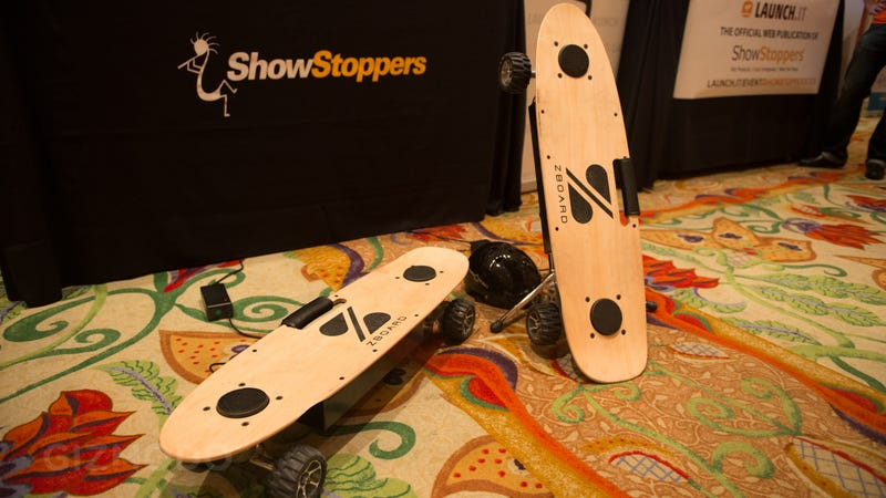 Illustration for article titled ZBoard Electric Skateboard Hands On: Holy Crap Fun