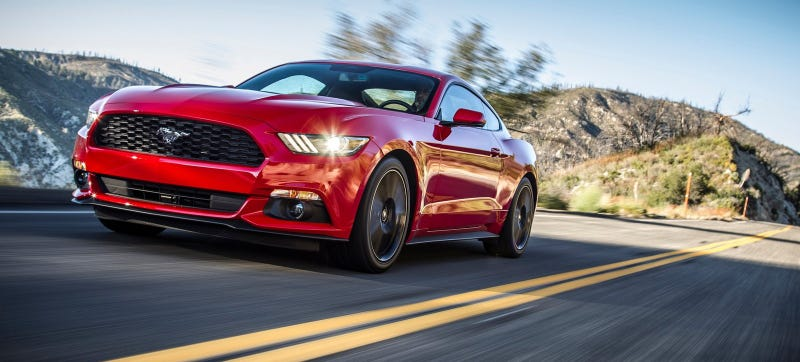 Illustration for article titled The Ford Mustang EcoBoost Is Getting Slower: Report (Updated)