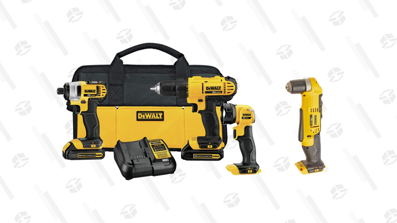 Amazon's One-Day DEWALT Sale Has a Couple of Tools For Your Next DIY Project