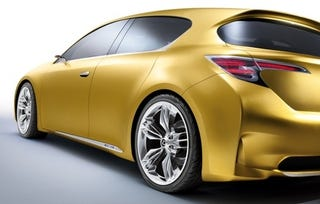 Illustration for article titled Lexus LF-Ch Concept: Premium Hatch Heads To Frankfurt