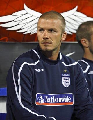 Illustration for article titled David Beckham: Angel Heart Head