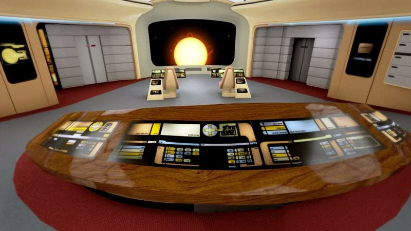 Illustration for article titled Take a virtual tour of Star Trek's Enterprise-D