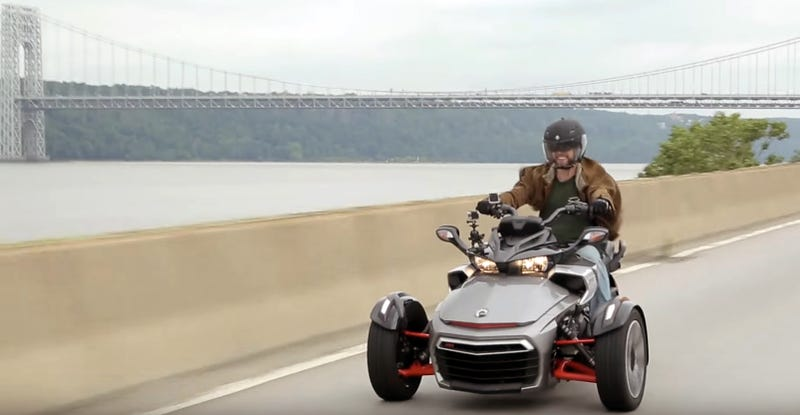 Illustration for article titled Comment Of The Day: In Defense Of The Can-Am Three Wheeler Edition