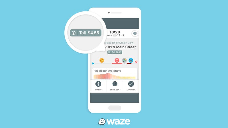Waze Announces Exclusive New Toll Calculation Feature
