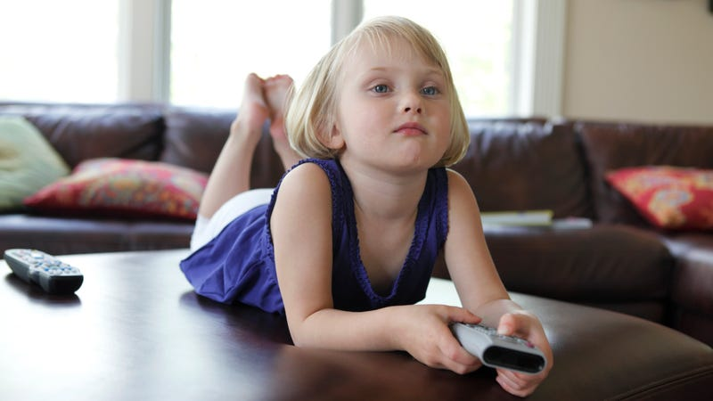 Illustration for article titled Bored 4-Year-Old Mixes Things Up By Watching Movie She's Only Seen 97 Times