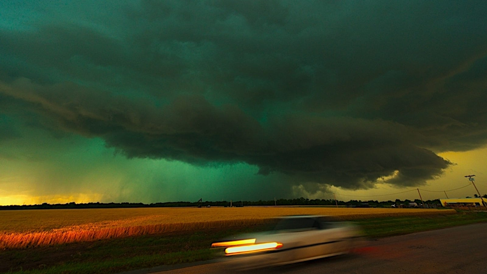 If You See Green Storm Clouds Prepare For The Worst