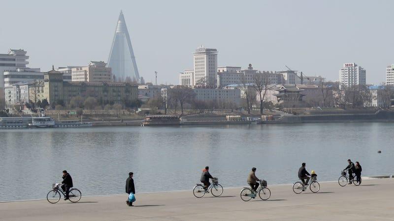 North Korea's capital city of Pyongyang.