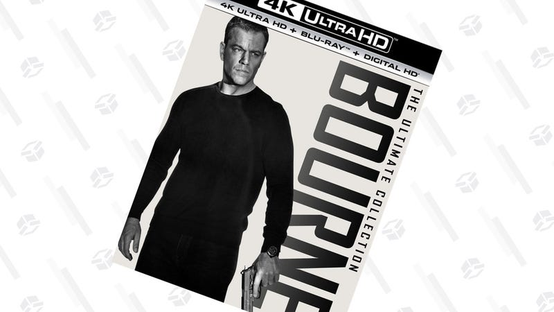 The Bourne Ultimate Collection 4K | $40 | Amazon