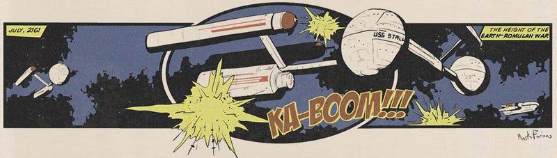 Illustration for article titled Star Trek Web Comic Boldly Goes Where Trek Traditionally Hasn't